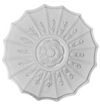 "12.5 "" Small Adam Plaster Ceiling Rose 318mm"