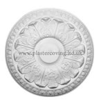 "19"" Egg and Acanthus Plaster Ceiling Rose 483mm"