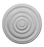 "29"" Plain Plaster Ceiling Rose 736mm"