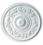 Climbing Rose Plaster Ceiling Rose 380mm
