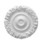 Floral Plaster Ceiling Rose 500mm