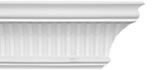 Large Fluted Plaster Coving <br>130mm x 127mm