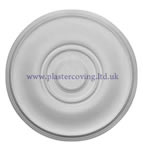 Small Barley Twist Plaster Ceiling Rose 380mm