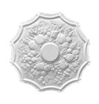 Small Fruit Plaster Ceiling Rose 450mm