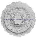 Small Sunflower Plaster Ceiling Rose 457mm