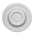 "12"" Plain Plaster Ceiling Rose 305mm"