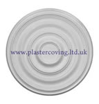 "24"" Plain Plaster Ceiling Rose 609mm"