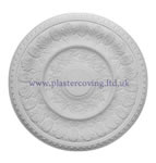 Large Dentil Plaster Ceiling Rose 534mm