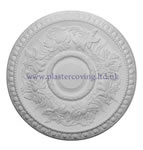 Large Egg and Dart Plaster Ceiling Rose 514mm