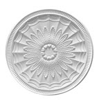 Large Tramline Plaster Ceiling Rose 680mm