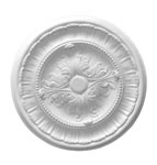 Small Acanthus and Fern Plaster Ceiling Rose 410mm