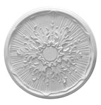 Star Centre Plaster Ceiling Rose 520mm
