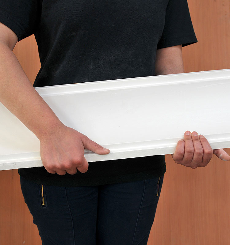 Extra Large Plain Plater Coving