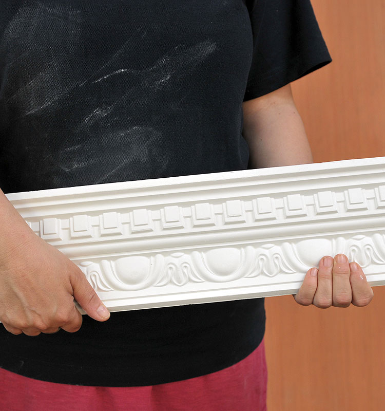 Traditional Dentil Egg and Dentil Plaster Coving